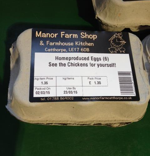 Manor Farm Eggs Temp
